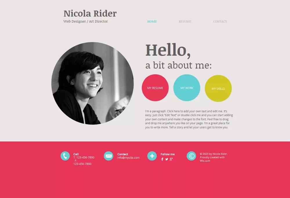 15 Best Free Online Resume/CV Website Templates and Themes