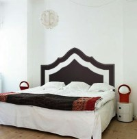 Modern Exotic Headboard - Beautiful Wall Decals