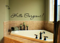 Hello Gorgeous - Beautiful Wall Decals