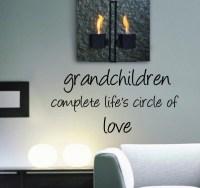 Grandchildren - Beautiful Wall Decals