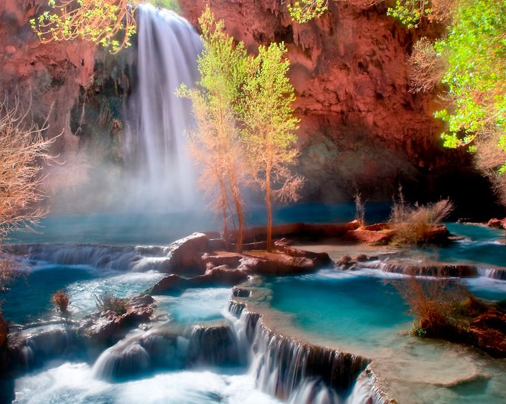 Havasu Falls Arizona Wallpaper Havasu Falls Arizona Hikes Tours Facts And Information