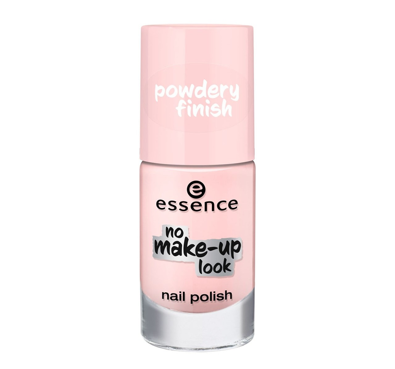 Essence No Make Up Look Nail Polish 01 Powdery Rose 8ml Beauty