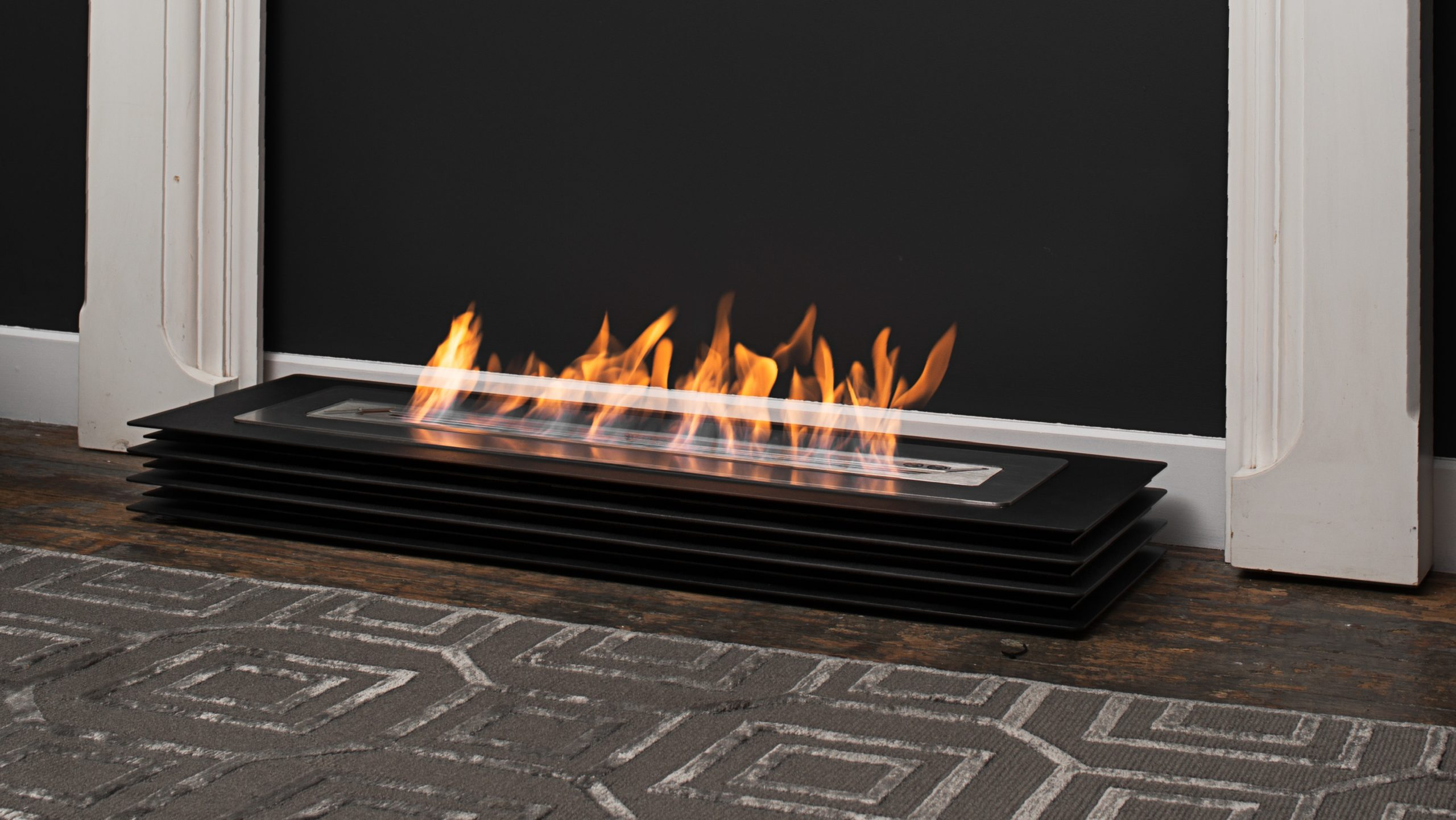 Contour Bioethanol Fireplace Mobile Fireplace Beauty Fires