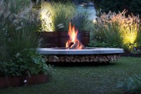 Ercole Wood Burning Fire Pit | Outdoor Fireplace | Beauty ...