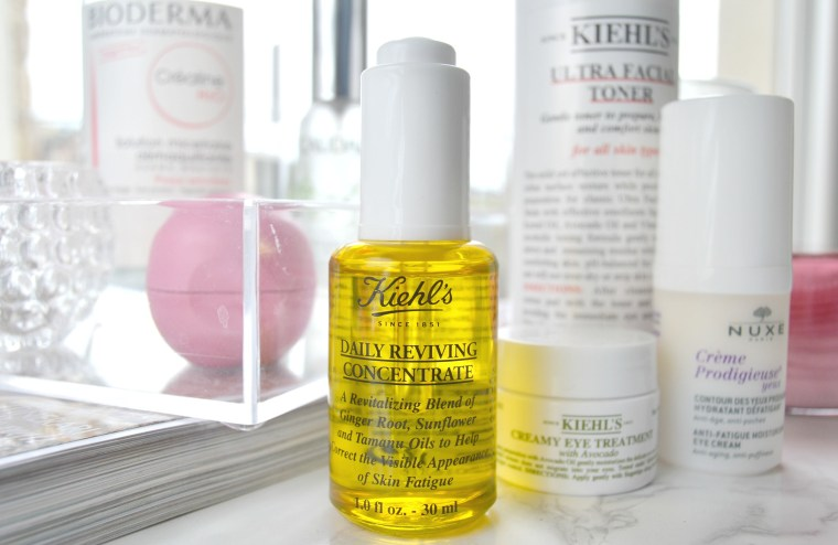 La mia routine beauty del mattino Daily Reviving Concentrate