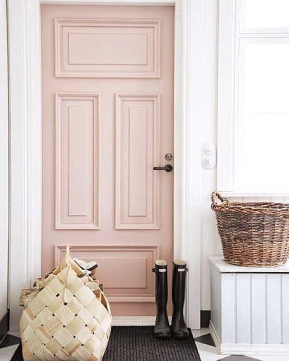 13 un tocco di rosa in casa
