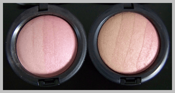 mac blonde and redhead msf MAC Naturally Collection Swatches