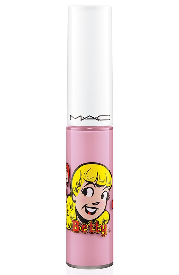 ArchiesGirls Lipglass StaySweet 72 Introducing MAC Archie Girls Collection