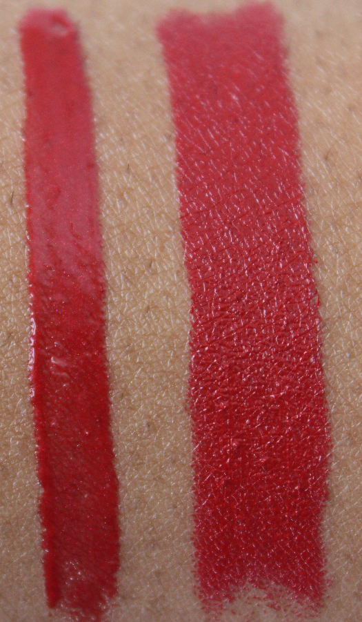 mac Ready to Roam and eden rouge swatch MAC Style Seeker Swatches