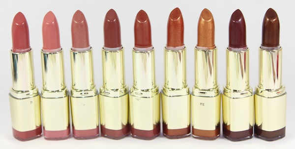 milani color statement naturals browns lipstick open New Milani Color Statement Natural and Brown Lipsticks