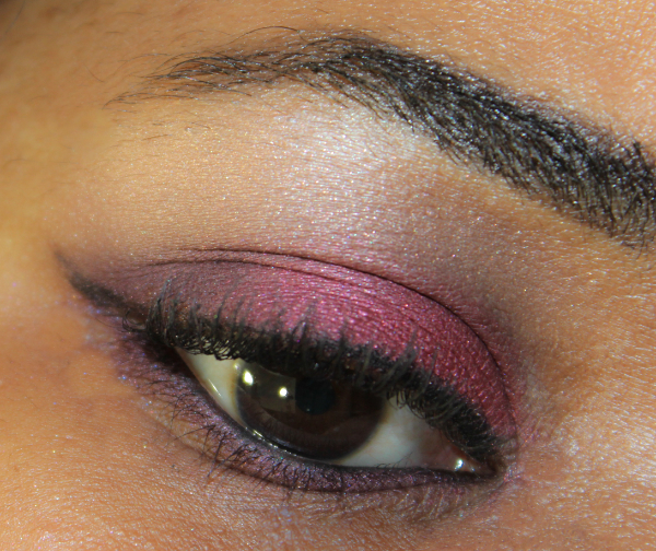 mac brazenly crimson tryst eye MAC Nudes & Metallics Swatches