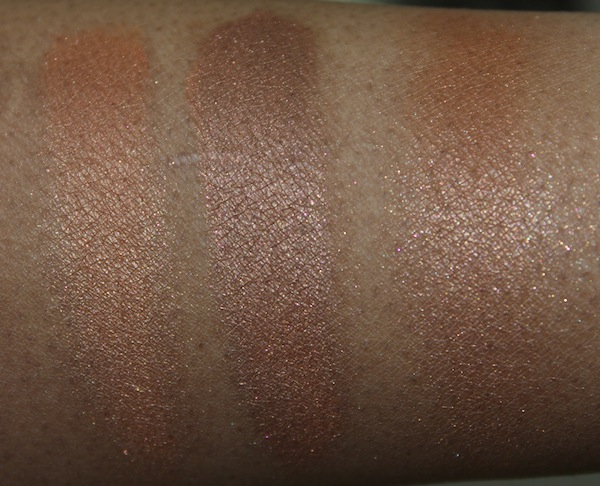 mac exotic ember swatch MAC Tropical Taboo Swatches