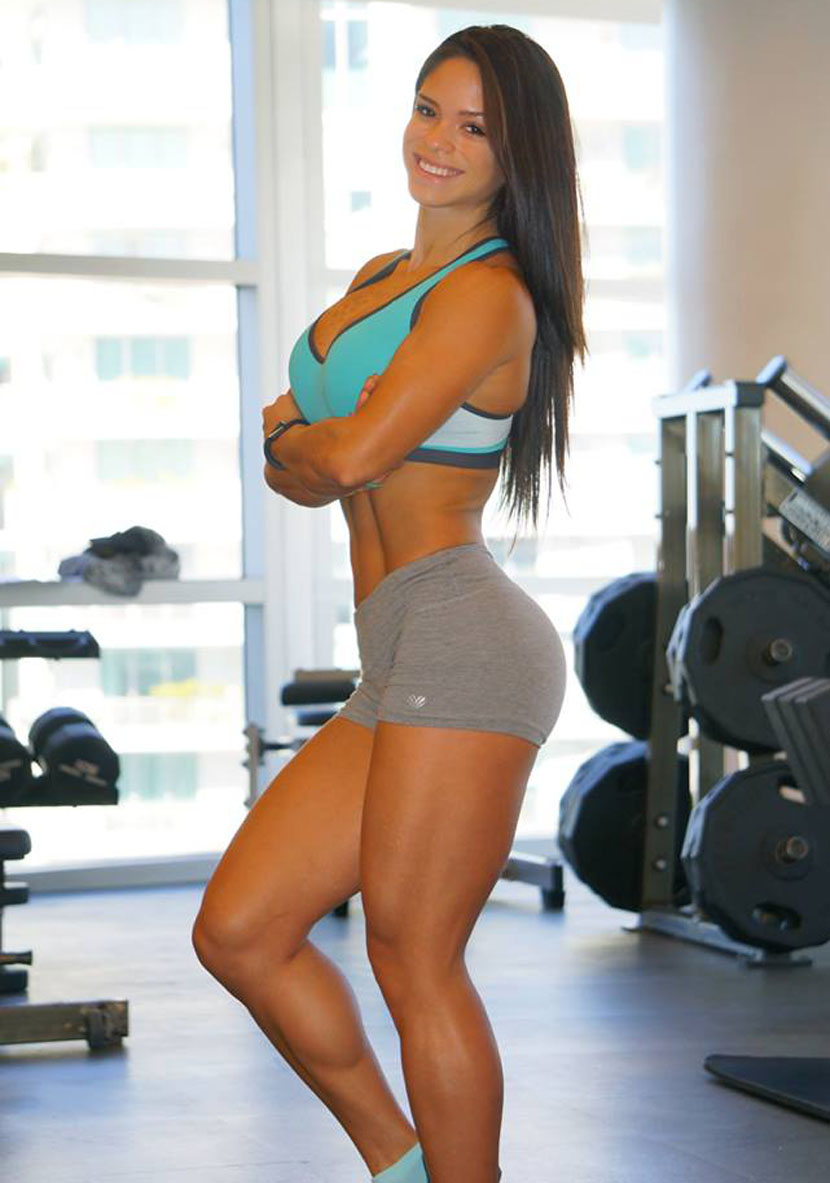 Gorgeous Girl Hd Wallpaper Michelle Lewin 29102014 Beauty Muscle