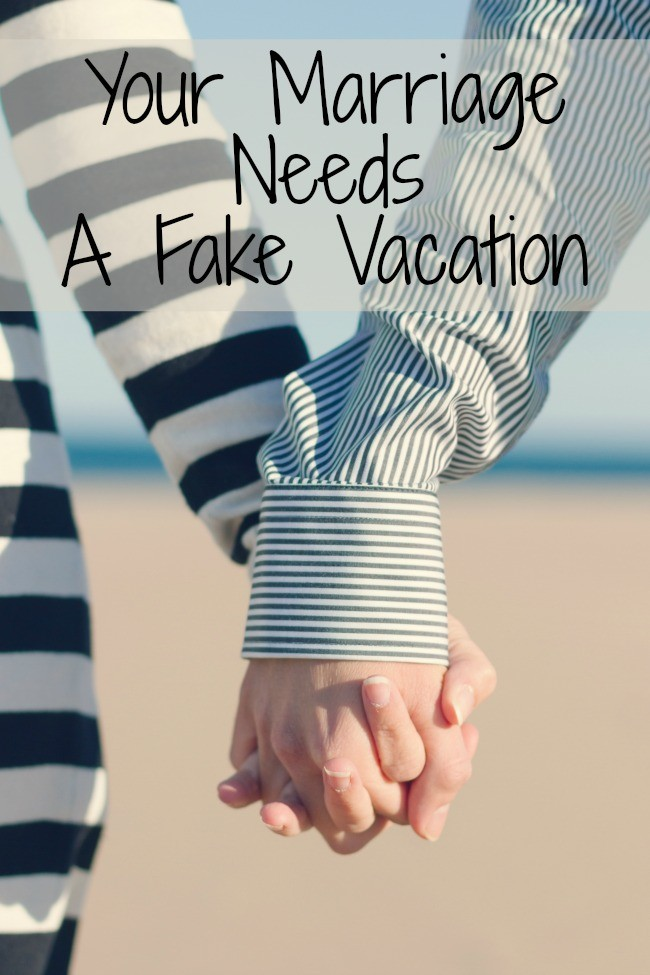 At home date night - fake vacation - Beauty through imperfection
