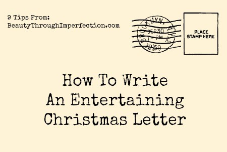 Family Christmas Letter Making them fun  entertaining!