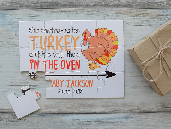 Fun ways to announce your pregnancy on Thanksgiving - Beauty through