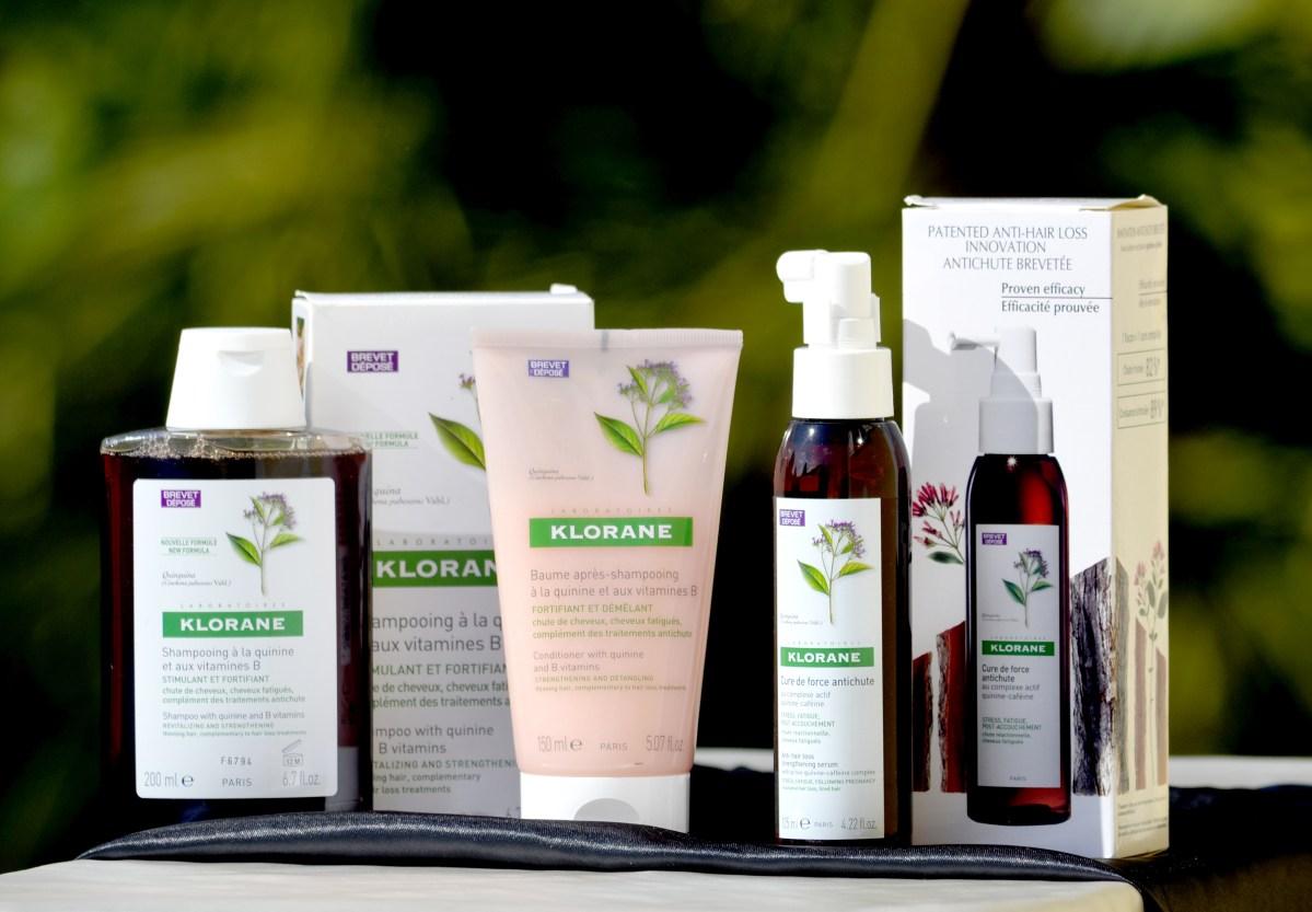 Cheveux : Une solution Anti-Chute complète chez KLORANE !