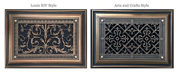 Decorative Foundation Grilles Crawl Space Vent Covers by Beaux