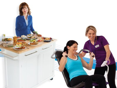 Lose Fat Efficiently With Strength Training and Healthy Eating