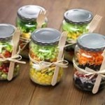 Eat Right Get Well: 4 Mason Jar Salads to Bring on the Go