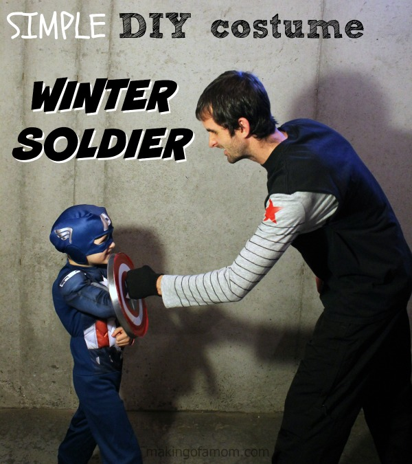 Easy Winter Soldier Costume from Captain America | BecauseImCheap.com