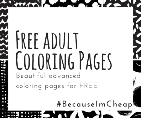 Free adult coloring pages