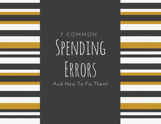 common spending errors