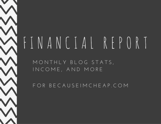Blog Financial Report