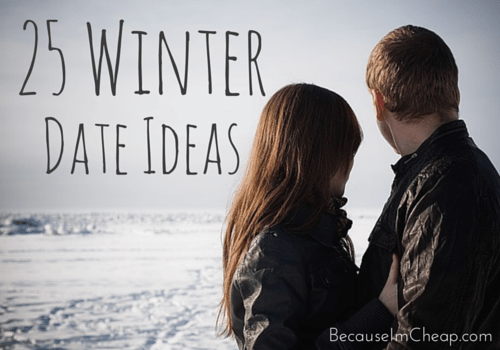 25 Winter Date Ideas | BecauseImCheap