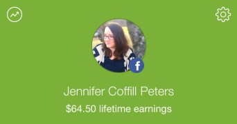 I've earned $64.50 cashback on groceries!