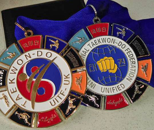 Unified ITF medals