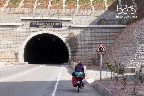 Tunnel in Tajikistan