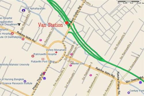 Victory Monument Van-Station