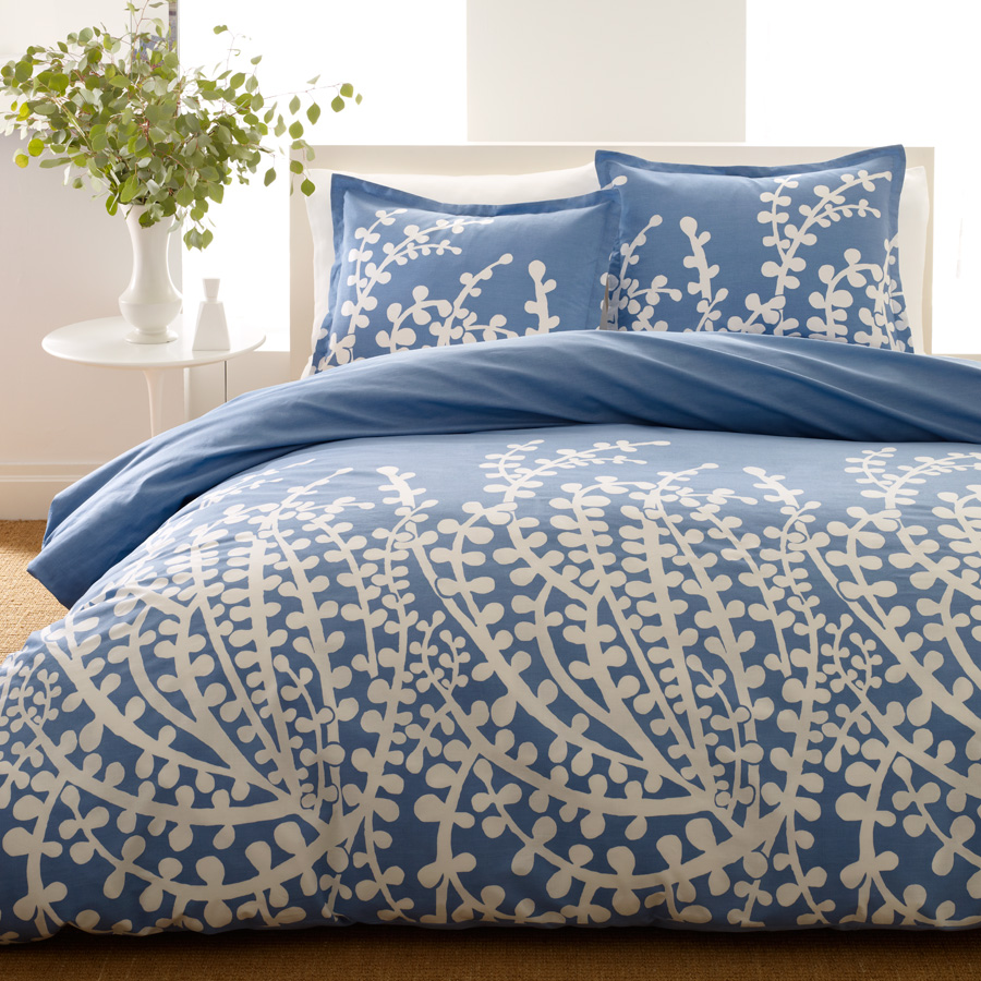 Shop city scene french blue bedding comforters amp duvets from