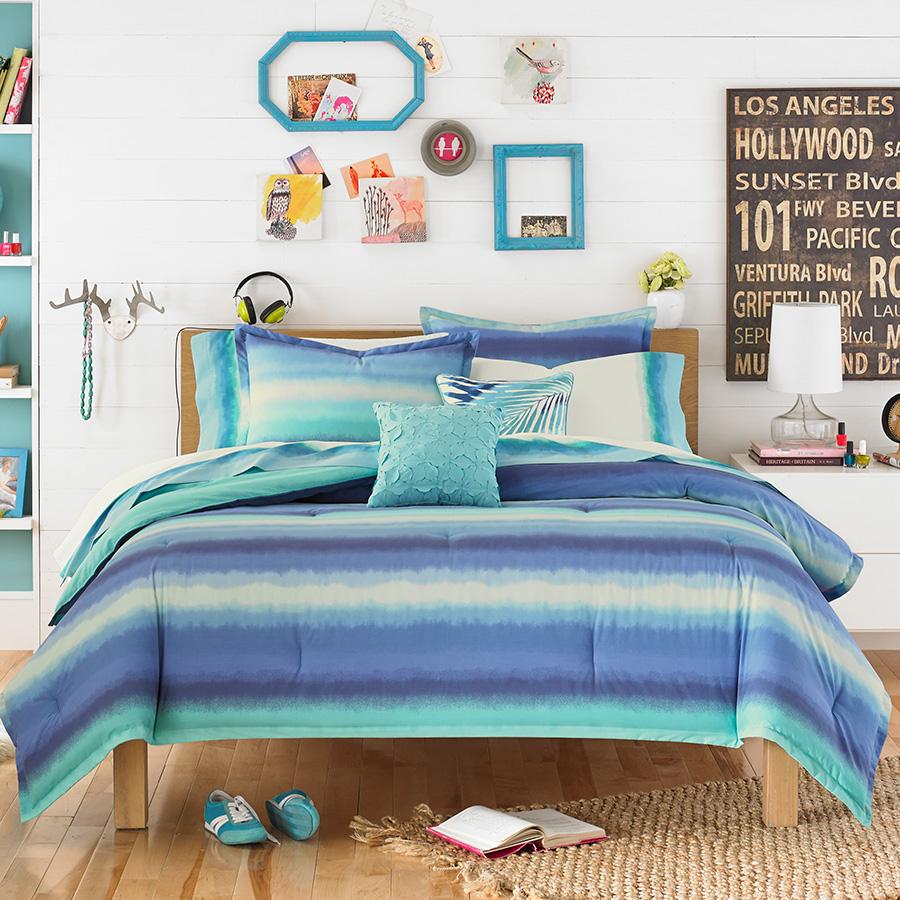 Teen Vogue Electric Beach Blue Comforter Set from