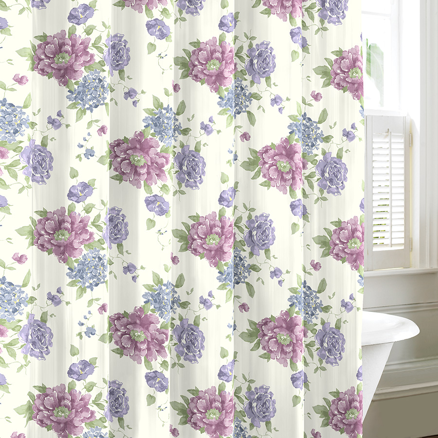 Nautica palmetto bay stripe shower curtain from beddingstyle com - Nautica Palmetto Bay Stripe Shower Curtain From Beddingstyle Com Laura Ashley Milner Shower Curtain From Download