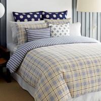 Tommy Hilfiger Spectator Plaid Comforter and Duvet Cover ...