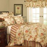 Charleston Chirp Quilt Set by Waverly Bedding
