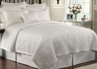Lismore Quilt White by Waterford Luxury Bedding ...