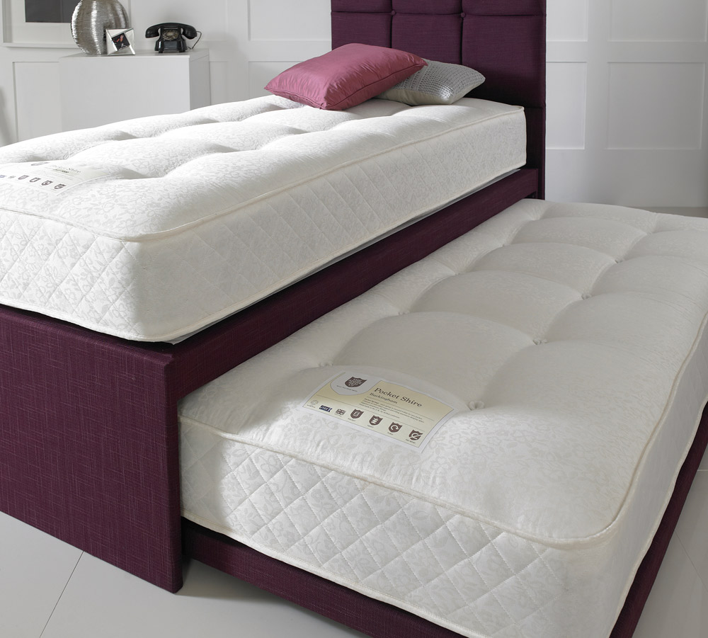 Shire Beds Luxury 3ft Single Divan Guest Bed