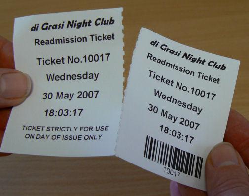 Ticket Machines,Ticket Printing Machines - printable ticket paper