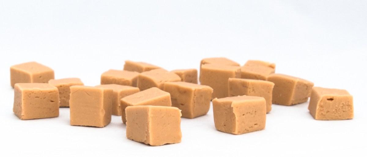 Creamy traditional vanilla fudge
