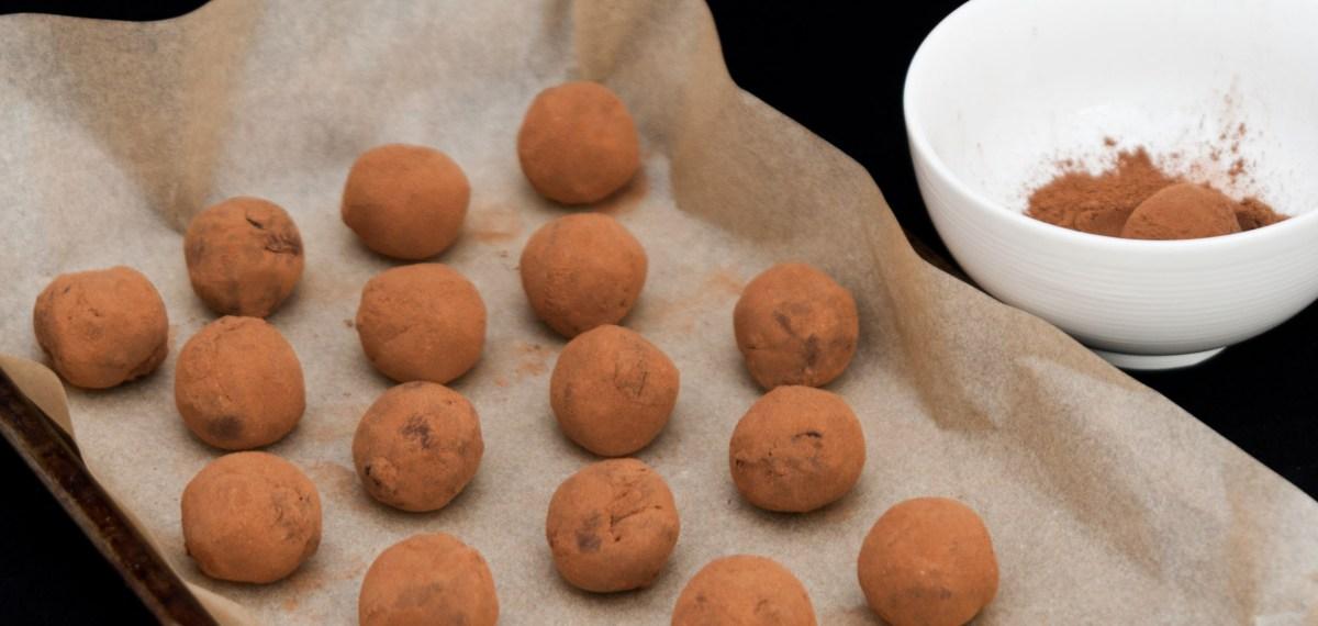 Brandy soaked mincemeat truffles