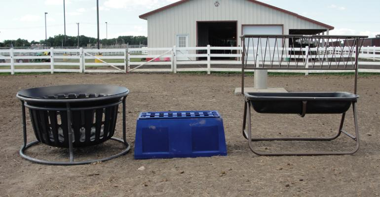 Research Finds Small Square Bale Feeders Most Efficient