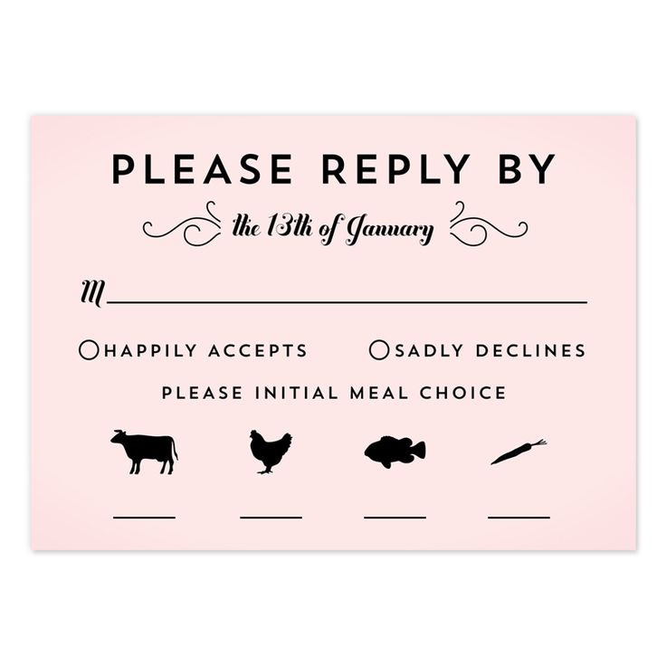 Wedding Response Cards Printing UK Print RSVP Card London