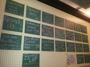 Beachwood BBQ Tap List