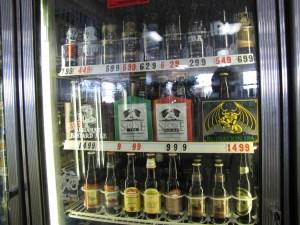 Pacific Park Market beer fridge
