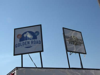 Golden Road and Bootleggers Brewery