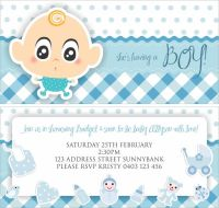 Ideas For Cheap Boy Baby Shower | FREE Printable Baby ...
