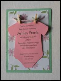 Baby Shower Invitations Ideas For Girls   FREE Printable ...